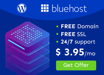 bluehost footer banner